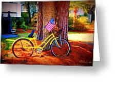 Patriotic Ride Greeting Card