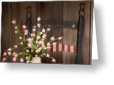 Patriotic Seating Greeting Card