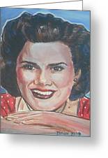 Patsy Cline Greeting Card