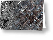 Pattern 001 Greeting Card