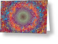 Pattern 123 Greeting Card