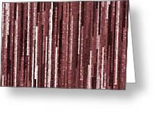 Pattern 92 Greeting Card