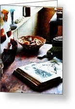 Pattern Book Greeting Card by Susan Savad