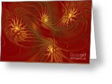 Pattern Of Elegance Greeting Card