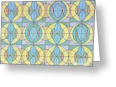 Pattern Of Serenity Greeting Card