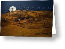 Patterson Pass Wind Farm Greeting Card