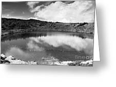 Pau-pique Lake Greeting Card