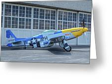 Paul 1 P-51d Mustang Greeting Card