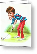 Paul Azinger Greeting Card by Harry West