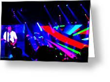 Paul In Concert Greeting Card