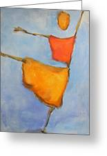 paul klee Painting, Scarecrows  Greeting Card