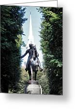 Paul Revere Greeting Card