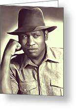 Paul Robeson, Vintage Actor And Singer Greeting Card