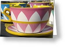 Pavilion Tea Cups Greeting Card