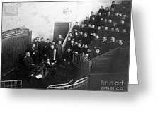 Pavlov In Lecture Theater, 1904 Greeting Card