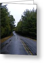 Pawtuckaway Road Greeting Card