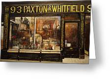 Paxton Whitfield .london Greeting Card