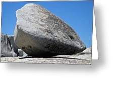 Pay The Stone - Bald Rock 2016 Greeting Card