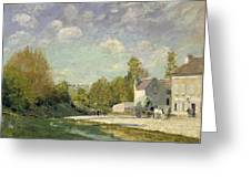Paysage Greeting Card by Alfred Sisley