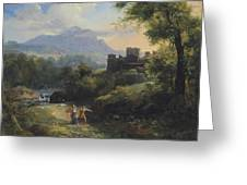 Paysage Arcadien Greeting Card