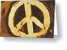 Peace 2 Greeting Card