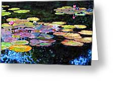 Peace Among The Lilies Greeting Card
