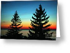 Peace And Quiet 2 Greeting Card