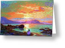 Peace Be Still Meditation Greeting Card