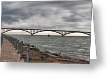 Peace Bridge Greeting Card