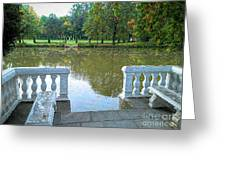 Peace By The Lake Greeting Card
