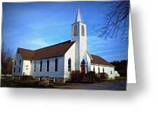Peace Church Greeting Card