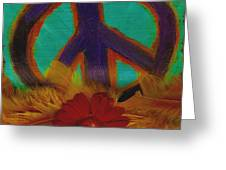Peace Every Day Greeting Card