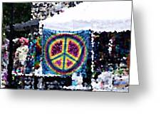 Peace In The Streets Greeting Card