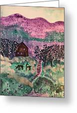 Peace In The Valley Greeting Card