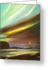 Peace Is Colorful - Vertical Painting Greeting Card