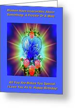 Peace Light And Love Greeting Card