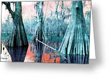 Peace On Water Greeting Card