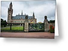 Peace Palace Greeting Card