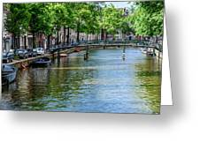 Peaceful Canal Greeting Card
