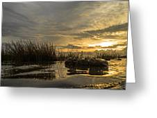 Peaceful Clouds Greeting Card