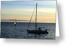 Peaceful Day In Santa Barbara Greeting Card