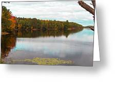 Peaceful Fall Day Greeting Card