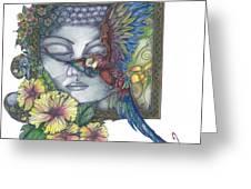 Peaceful Flight Greeting Card