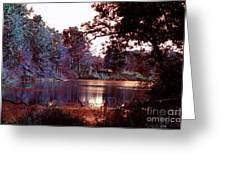 Peaceful In Infrared No1 Greeting Card