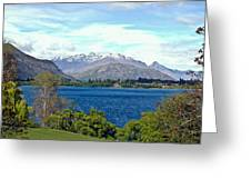 Peaceful Lake -- New Zealand Greeting Card
