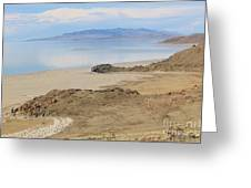 Peaceful Moments By The Salt Lake 4 Greeting Card