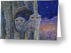 Peaceful Night Greeting Card