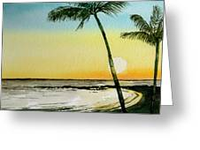 Peaceful Palms Greeting Card