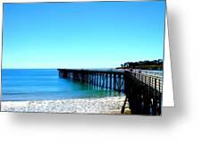 Peaceful Pier Greeting Card