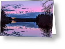 Peaceful Pond Greeting Card